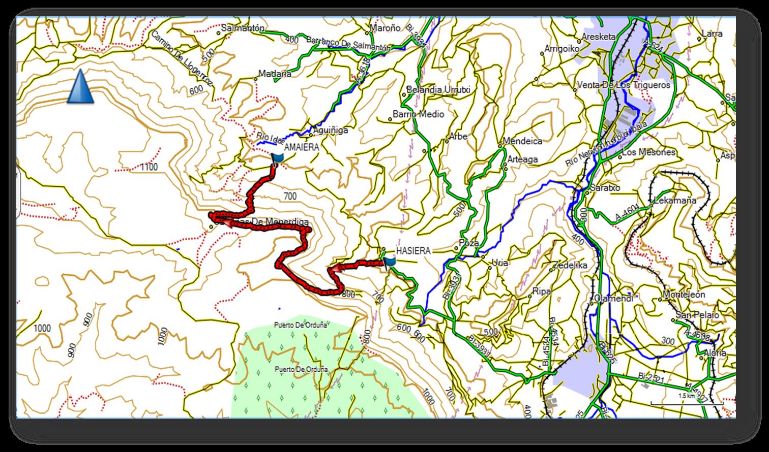 Tologorriko mapa